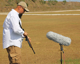 Sound designer / composer Watson Wu uses DPA microphones to pick up extreme sound effects for the action movie